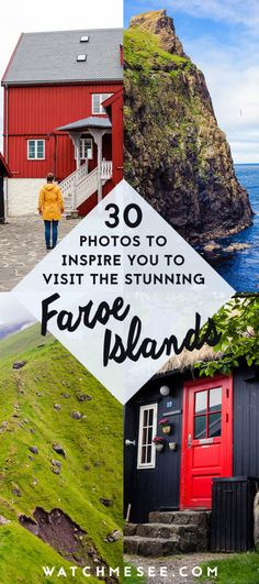 The Faroe Islands have to be one of the most scenic places in the world! Near Denmark, here are 30 photos that will make you want to travel there right now. #faroeislands #travelphotography
