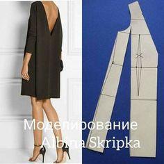Ideas Diy Fashion Dresses Couture For 2019 Dress Sewing Patterns, Clothing Patterns, Fashion Sewing, Diy Fashion, Sewing Clothes, Diy Clothes, Skirt Fashion, Fashion Dresses, Block Dress
