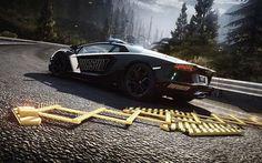 Lamborghini Aventador - Need for Speed: Rivals wallpaper Need For Speed Rivals, High Resolution Wallpapers, Full Hd Wallpaper, Lamborghini Aventador, Spikes, Scream, F1, Videogames, Random Stuff