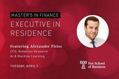 Alexander Fleiss Teaching @ Temple University Fox School of Business
