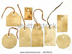 Tags - stock photo