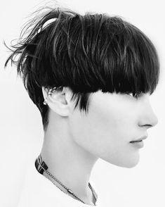 Los tres cortes de pelo de 2017 han nacido (una vez más) en el backstage de Alexander Wang | Vogue