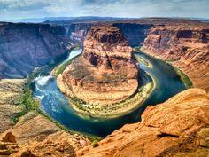 Horseshoe Bend. Colorado River, Arizona.