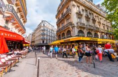 Don't plan any meals in tourist areas in Paris - do your homework ahead with a good Paris restaurant guide or scout out cafes that aren't catering only to tourists.