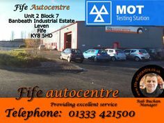 Unit 2 Block 7 Banbeath Industrial Estate Leven Fife KY8 5HD Telephone 01333 421500