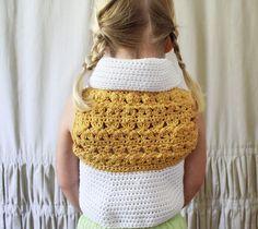 Crochet Pattern: The Summer Vest-3 Sizes by NaturallyNoraCrochet