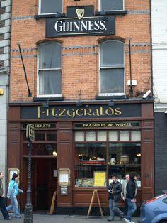 Fitzgeralds - Whiskeys, Brandies & Wines, Dublin, Ireland