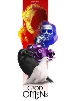 Good Omens poster on Behance