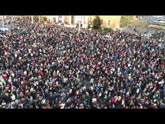hvg.hu - Itthon: Így nézett ki a levegőből a szív a Hősök terén - videó