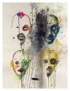4 ansigter