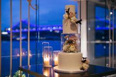 Jack and Amy's slick city event Unusual Wedding Cakes, Beautiful Wedding Cakes, Wedding Cake Inspiration, Luxury Wedding, Brisbane, Vows, Flower Designs, Wedding Reception, Amy