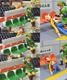 Link and Lucky Luke Story