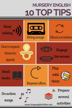 Key tips for teaching English to babies and toddlers
