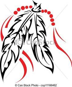 New tattoo feather flower clip art ideas Native American Feather Tattoo, Tribal Feather Tattoos, Native American Symbols, Tribal Heart Tattoos, Pena Tribal, Arte Tribal, Feather Clip Art, Feather Drawing, Feather Stencil