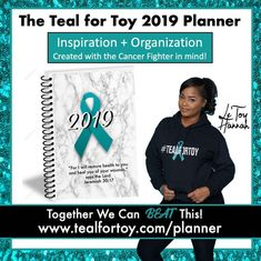 Today is #WorldCancerDay! Go to @tealfortoy, follow and check out the 2019 Teal Planner. Teal for Toy provides help to #ovariancancer…