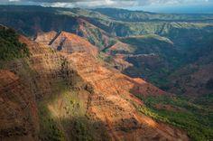 Waimea Canyon Kauai Hawaii by Schreier Fotografie