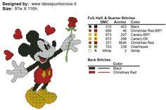 Mickey w/ rose 2 of 2