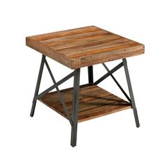 Emerald Chandler Reclaimed Wood End Table Ping Great Deals On Coffee