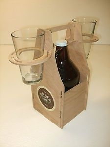 Growler Carrier. Perfect for those outdoor movies this summer...
