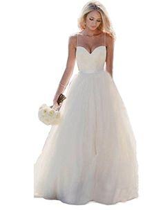 Fanciest Women's Spaghetti Staps Tulle Ball Gowns Wedding... https://www.amazon.com/dp/B01FJT9MUK/ref=cm_sw_r_pi_dp_x_izkAybWZ7YFXQ