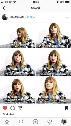 Taylor talking about joe