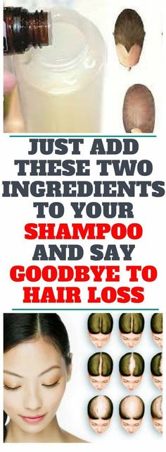Just Add These Two Ingredients To Your Shampoo And Say Goodbye To Hair Loss