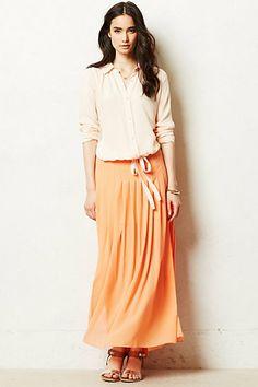 Zocalo Maxi Skirt - anthropologie.com