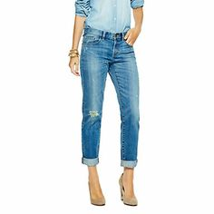 STRETCH MODERN BOYFRIEND JEAN via hukkster.com. Track it here to find out when it goes on sale!