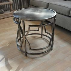 Telford Side table-by design des moines #furniture #interiordesign #desmoines #homedecor