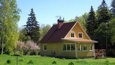 Ronjas Hus. Modernes renoviertes Haus mit Terrasse. Tingsryd Kommun, Småland, Schweden