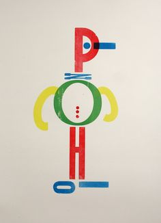 Pinocchio by Nick Morley, Linocut Boy PinocchioLetterpress | 50 x 70 cm