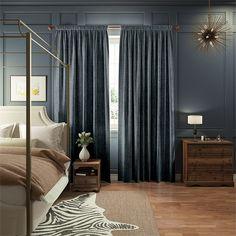 Eternity Linen Denim Curtains%20from%20Curtains%202go
