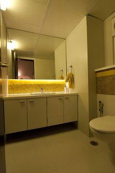 Skylight bathroom design by living edge architects for Bathroom designs bangalore