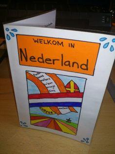 Brochure over Nederland (of andere streek/provincie)