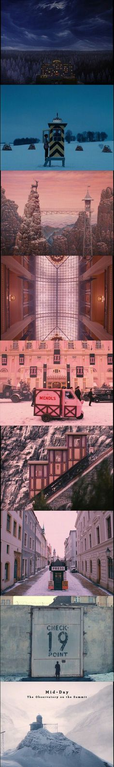 The Grand Budapest Hotel(2014) Wes Anderson's film.