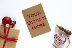 This listing is for a Styled Christmas Greeting Card Mockup which you can use to showcase your artwork or design in your stationary shop.INCLUDED - FILES (without watermark text)・One high resolution (300 DPI) JPG File Christmas Desktop, Christmas Greeting Cards, Christmas Greetings, Invitation Mockup, Invitations, Etsy Business, Business Tips, Etsy Seo, Christmas Onesie