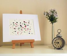 Scatter - Original Abstract Ink Painting - NOT A PRINT