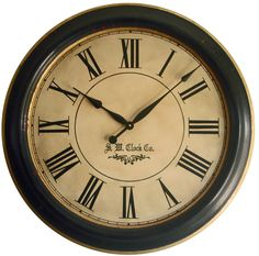 "Lexington 30"" Framed Wall Clock – Klocktime"