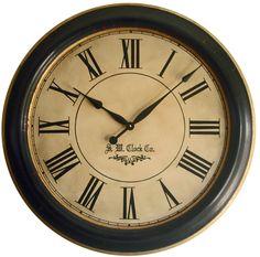 "Lexington 30"" Framed Wall Clock – Klocktime"