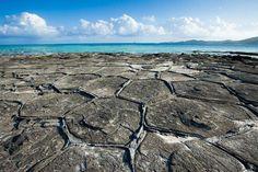 Tatami Ishi rock formations on Ōjima Island. Image by Ippei Naoi / Getty Images