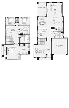 Henderson New Home Floor Plans, Interactive House Plans - Metricon Homes - NSW