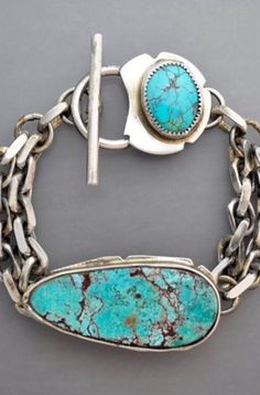 Turquoise Trail 5 by Temi on EtsyYou can find Turquoise jewelry and more on our website.Turquoise Trail 5 by Temi on Etsy Luxury Jewelry, Boho Jewelry, Jewelry Accessories, Handmade Jewelry, Jewelry Design, Fashion Jewelry, Jewelry Trends, Jewelry Box, Stylish Jewelry
