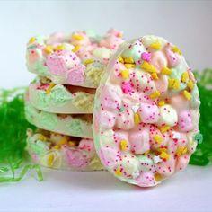 Easter marshmallow bark - mytaste.com
