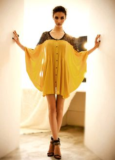 Wholesale Plus Size Scoop Neck Lace Splicing Pleated Batwing 3/4 Sleeve Shirt For Women (COFFEE,ONE SIZE), Blouses - Rosewholesale.com