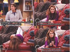 Haha Hannah Montana forever Hannah Montana Quotes, Hannah Montana Forever, Hannah Montana Outfits, Disney Memes, Disney Quotes, Old Disney Shows, Teenage Movie, Old Disney Channel, Billy Ray Cyrus