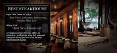 Chophouse New Orleans: Will have to give this place a try! NOLA here we come!