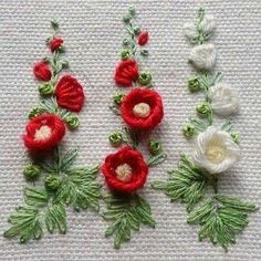 Wonderful Ribbon Embroidery Flowers by Hand Ideas. Enchanting Ribbon Embroidery Flowers by Hand Ideas. Brazilian Embroidery Stitches, Crewel Embroidery Kits, Learn Embroidery, Embroidery Needles, Silk Ribbon Embroidery, Hand Embroidery Patterns, Cross Stitch Embroidery, Flower Embroidery, Embroidery Supplies