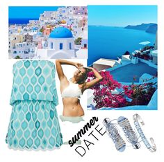 """""""Summer! 🌞"""" by queensilvi ❤ liked on Polyvore featuring ELIZABETH HURLEY beach, Steve Madden, Versace 19•69 and Billabong"""