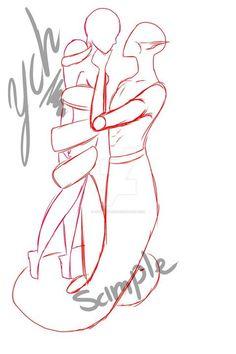 Manga Drawing (OPEN) Ych Naga Male X Female human by hiyonofukou - Drawing Body Poses, Drawing Tips, Drawing Sketches, Drawings, Drawing Base, Manga Drawing, Figure Drawing, Human Drawing, Anime Poses Reference