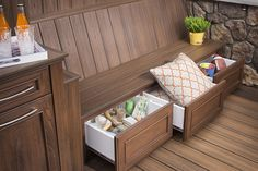 Did you make a resolution to become more organized in 2015? Whether it's keeping pillows and blankets in one place or chilling beverages for your next neighborhood get together, our new line of #Trex #OutdoorStorage products can help do it all. http://www.trex.com/products/decor-and-furniture/outdoor-storage/